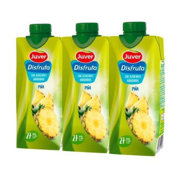 Oferta de Disfruta piña s/azucares añadidos 330ml, pk-3 por 1,59€