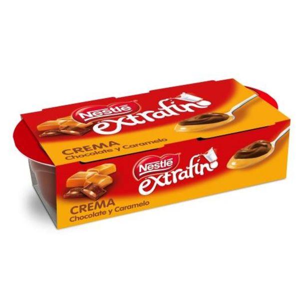 Oferta de Crema chocolate y dulce de leche, pk-2 por 1,09€