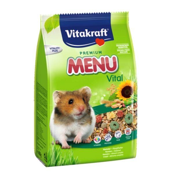 Oferta de Menu hamsters, 400g por 1,55€