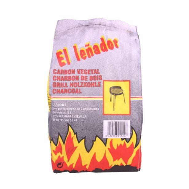 Oferta de Carbón vegetal, 12l por 2,15€