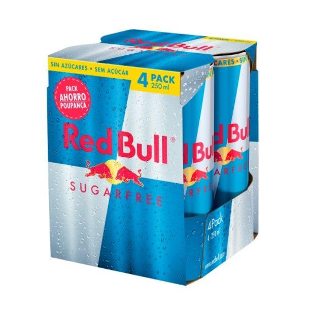 Oferta de Bebida energética sugar free 250ml, pk-4 por 4,95€