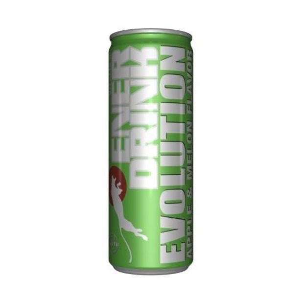 Oferta de Bebida energética evolution manz./melon,250ml por 0,5€