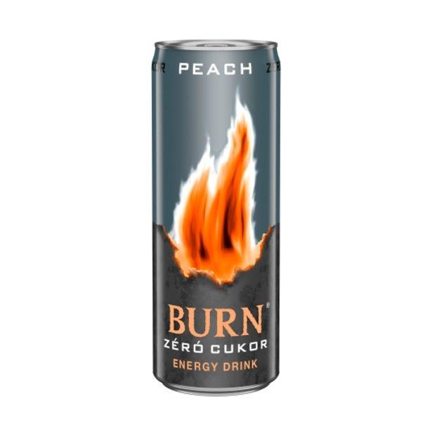 Oferta de Bebida energética zero peach, 500ml por 1,02€