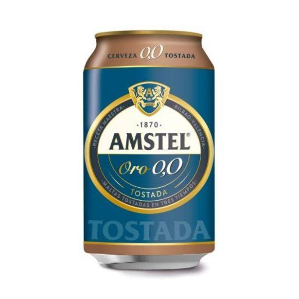 Oferta de Cerveza 0,0 sin alcohol tostada lata, 330ml por 0,62€