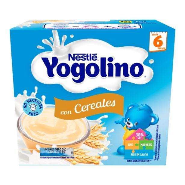 Oferta de Postre lácteo cereales yogolino, pk-4 por 2,5€