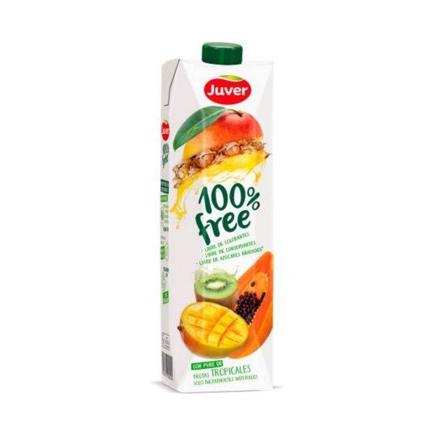 Oferta de Zumo 100% free frutas tropicales, l por 1,55€