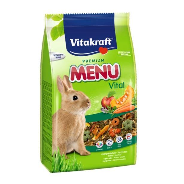 Oferta de Menu conejos enanos, 1kg por 2,78€