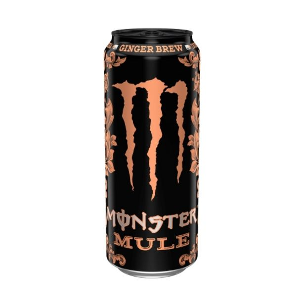 Oferta de Bebida energética mule lata, 500ml por 1€