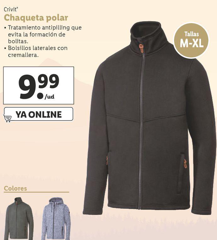 Oferta de Chaqueta Crivit por 9,99€
