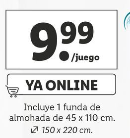 Oferta de Ropa de cama por 9,99€