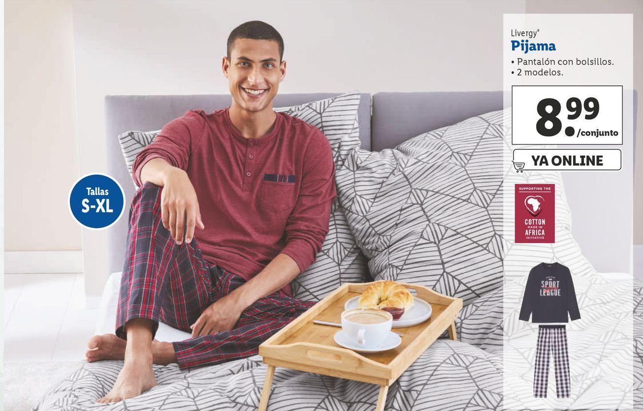 Oferta de Pijama hombre Livergy por 8,99€