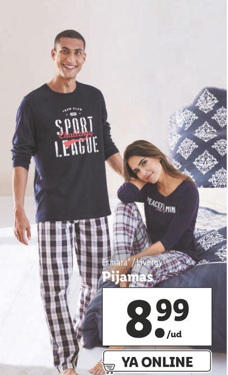 Oferta de Pijama esmara por 8,99€