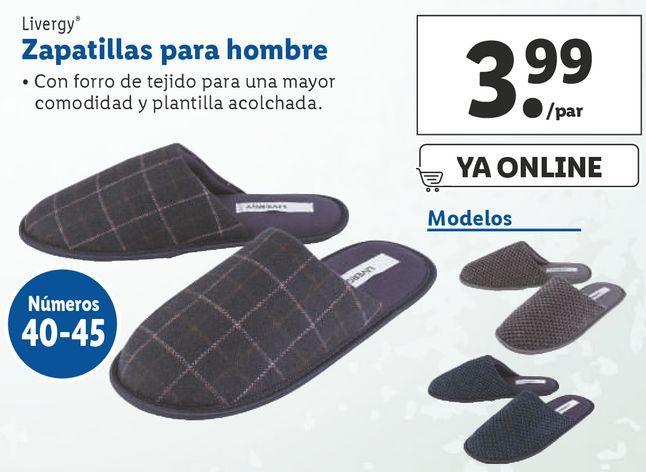 Oferta de Zapatillas Livergy por 3,99€