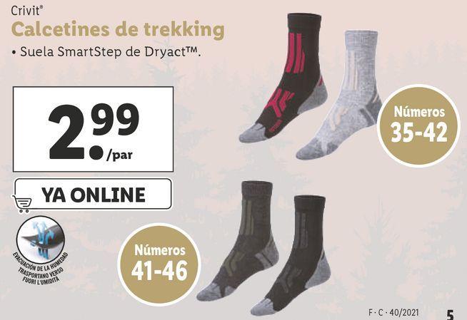 Oferta de Calcetines Crivit por 2,99€
