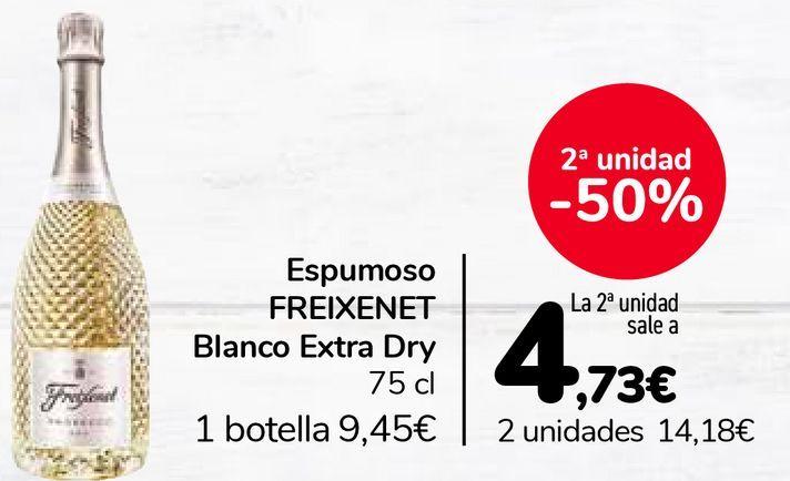 Oferta de Espumoso FREIXENET Blanco Extra Dry por 9,45€