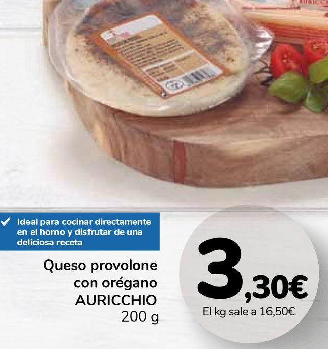 Oferta de Queso provolone con orégano AURICCHIO por 3,3€