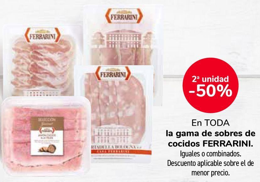 Oferta de En TODA la gama de sobres de cocidos FERRARINI por