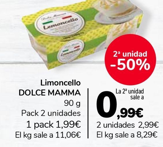 Oferta de Limoncello DOLCE MAMMA  por 1,99€
