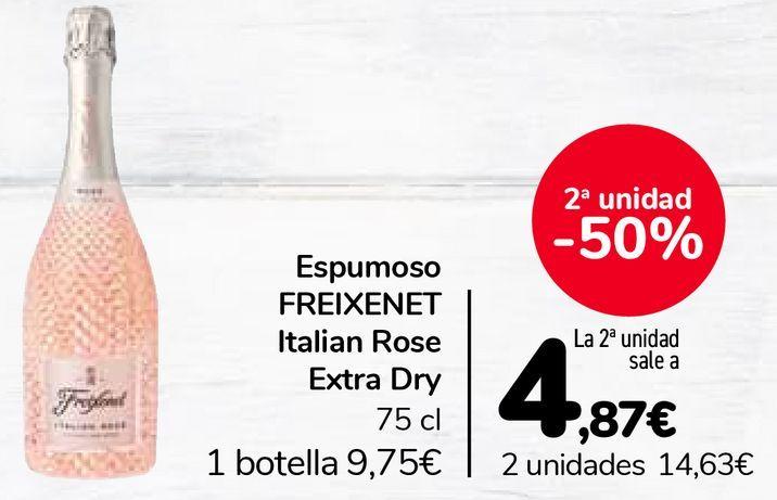 Oferta de Espumoso FREIXENET Italian Rose Extra Dry por 9,75€