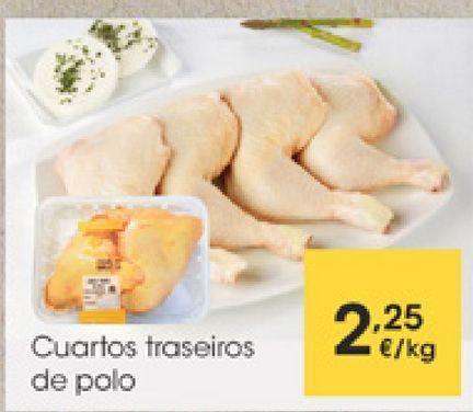 Oferta de Cuartos traseros de pollo por 2,25€