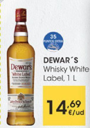 Oferta de DEWAR'S Whisky White Label  por 14,69€
