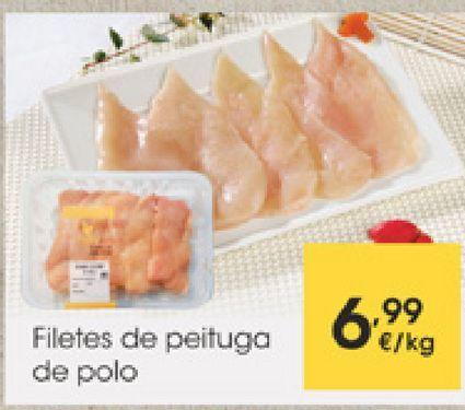 Oferta de Filetes de pechuga de pollo por 6,99€