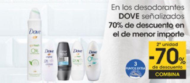 Oferta de En los desodorantes DOVE señalizados  por