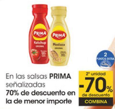 Oferta de En las salsas PRIMA señalizados  por
