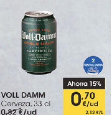 Oferta de VOLL-DAMM Cerveza  por 0,7€