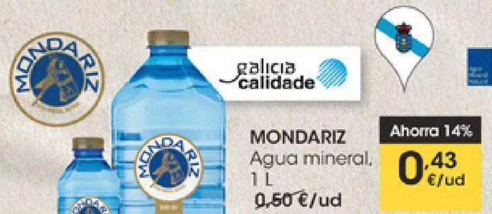 Oferta de MONDARIZ Agua mineral  por 0,43€
