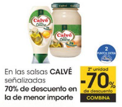 Oferta de En las salsas CALVÉ señalizados  por