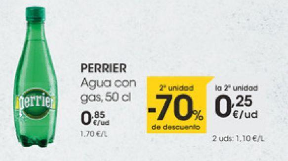 Oferta de PERRIER Agua con gas  por 0,85€