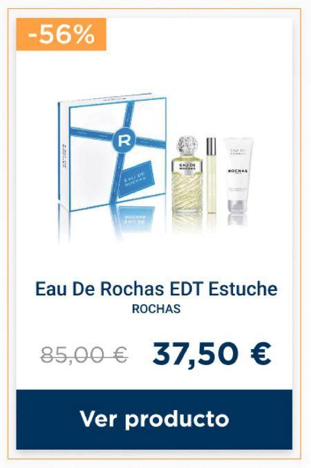 Oferta de Cuidado corporal Rochas por 37,5€