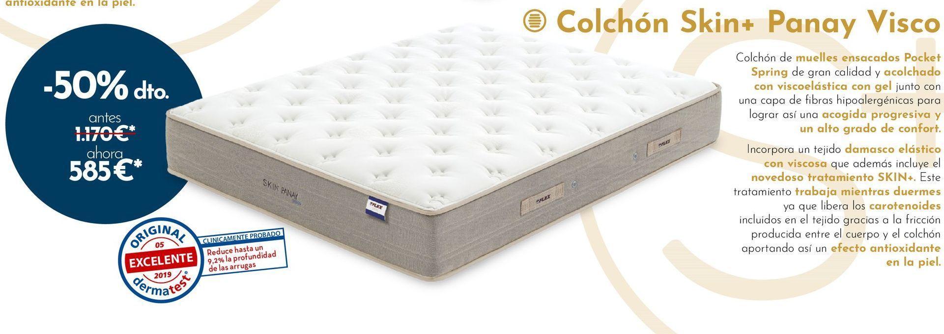 Oferta de Colchones por 585€