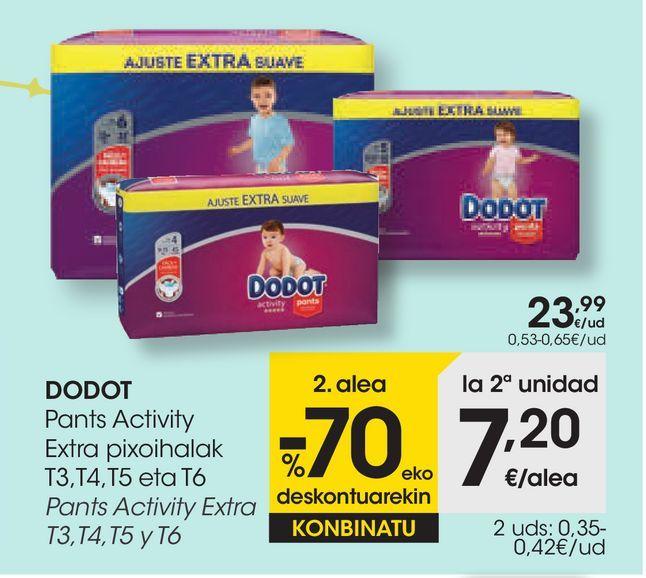 Oferta de DODOT Pants Activity Extra por 23,99€