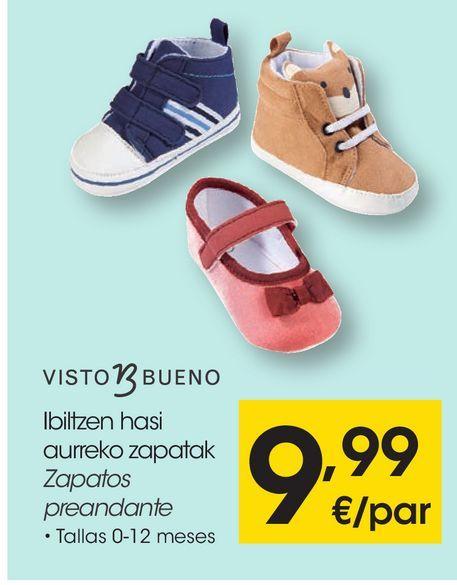 Oferta de VISTO BUENO Zapatos preandante  por 9,99€