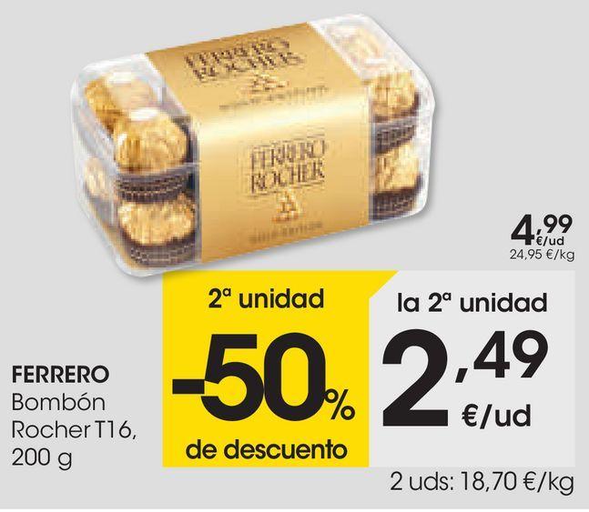 Oferta de FERRERO Bombón  por 4,99€