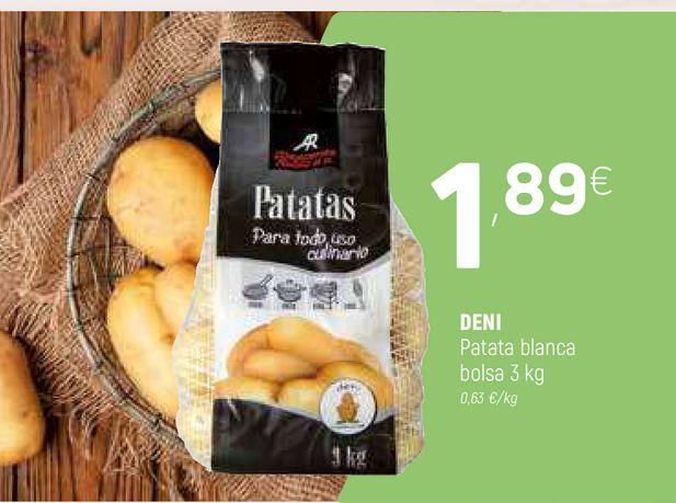 Oferta de Patatas blanca por 1,89€