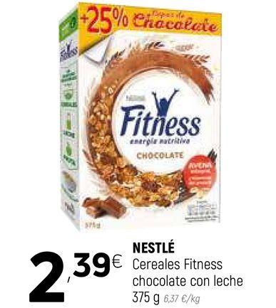 Oferta de Cereales Fitness Nestlé por 2,39€