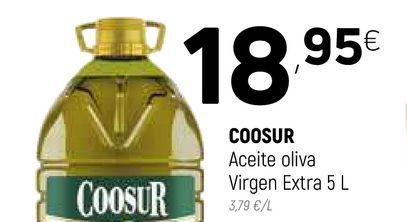 Oferta de Aceite de oliva virgen extra Coosur por 18,95€