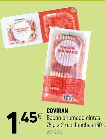 Oferta de Bacon ahumado coviran por 1,45€