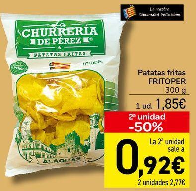 Oferta de Patatas fritas FRITOPER  por 1,85€