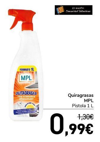 Oferta de Quitagrasas MPL  por 0,99€