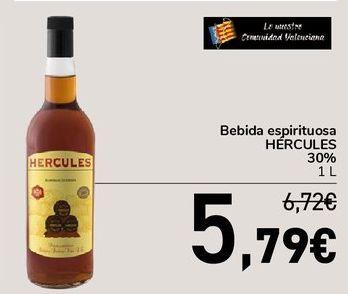 Oferta de Bebida espirituosa HÉRCULES 30%  por 5,79€