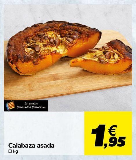 Oferta de Calabaza asada por 1,95€