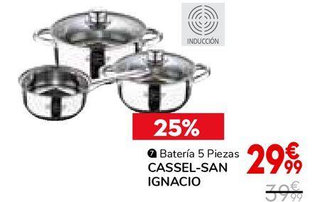 Oferta de Batería 5 piezas cassel-san ignacio por 29,99€