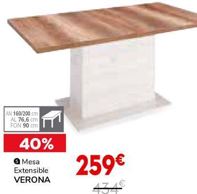 Oferta de Mesa extensible por 259€