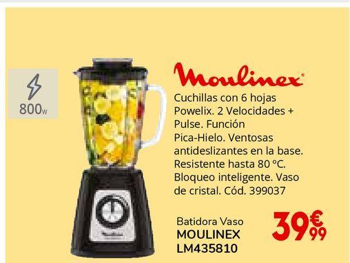 Oferta de Batidora de vaso Moulinex por 39,99€