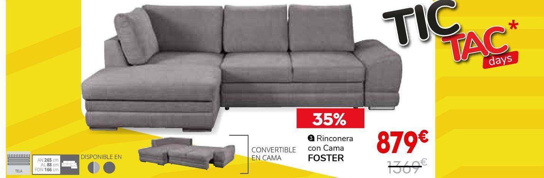 Oferta de Rinconera con cama por 879€