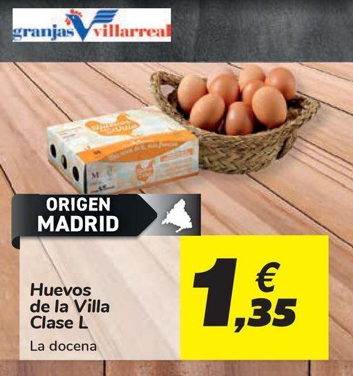 Oferta de Huevos de la Villa Clase L por 1,35€